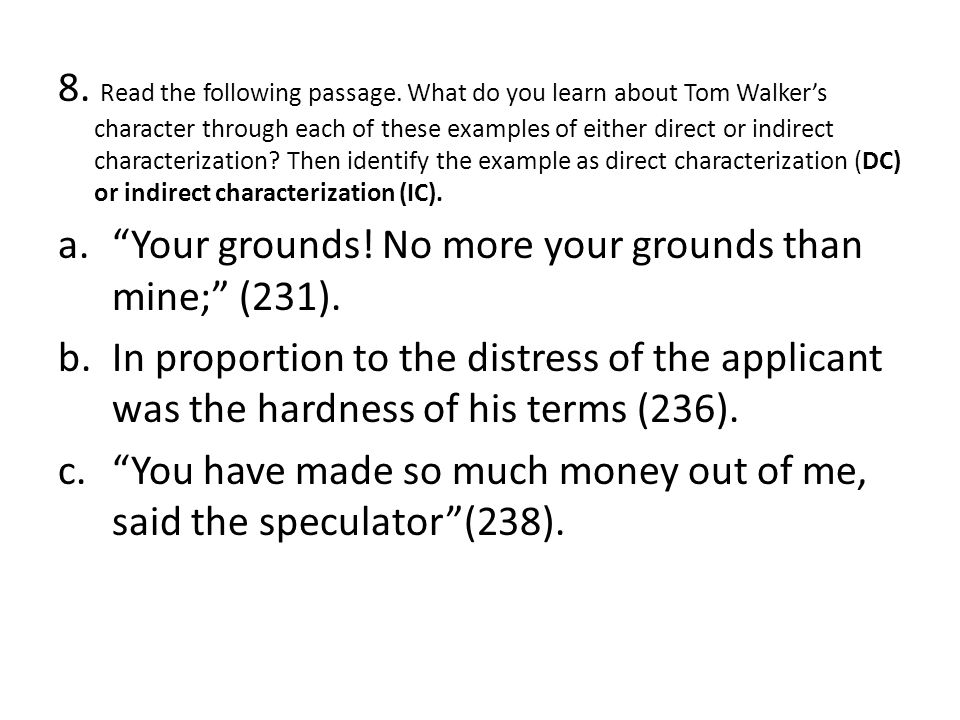the devil tom walker group assignment ppt   the following passage