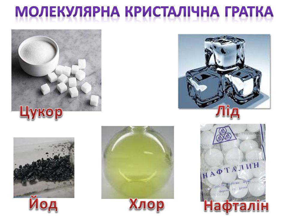 Молекулярна кристалічна гратка