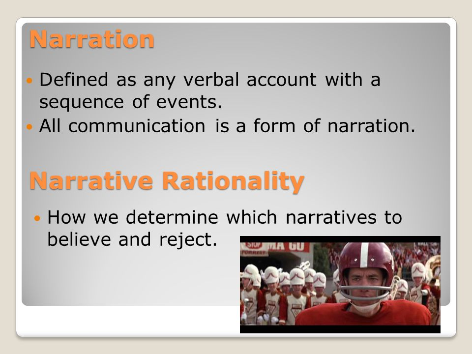 Narrative Paradigm Theory & Forrest Gump - ppt video online download
