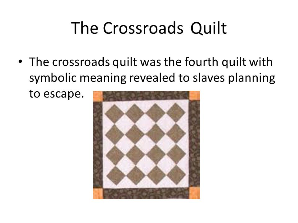Quilt Codes of the Underground Railroad - ppt video online ...