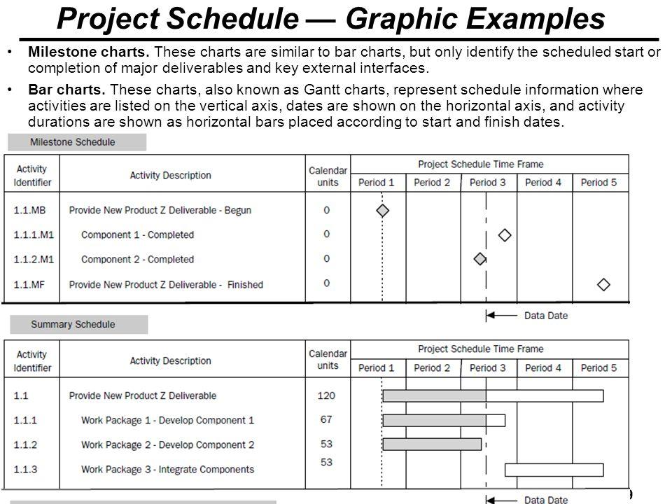 project milestone examples