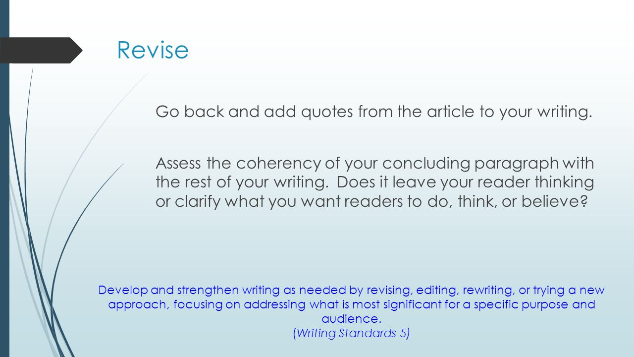 Rewrite a paragraph using appositives