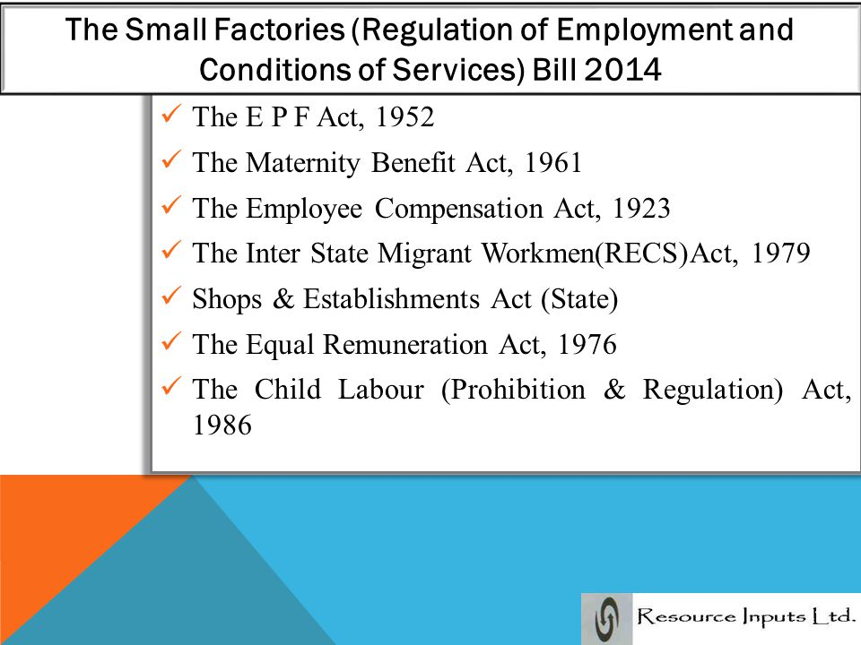the factories act 1961 an overview The factories act 1961 is an act of the parliament of the united kingdom at the time of its passage, the act consolidated much legislation on workplace health, .