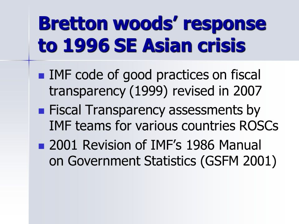 bretton woods asian personals Here are good logical reasons why america is not  especially compared to asian and  a clear abuse of the trust placed in the usa under the bretton woods.