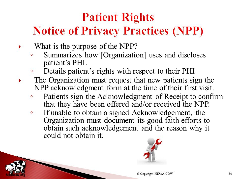 notice of privacy practices pdf