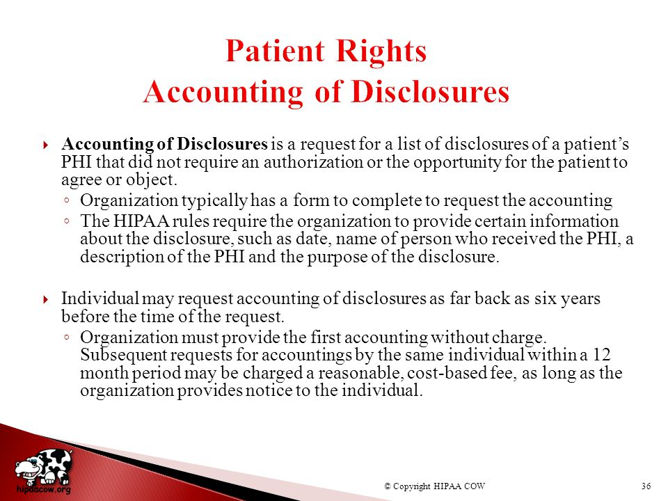 Topic 11: Miscellaneous Disclosure