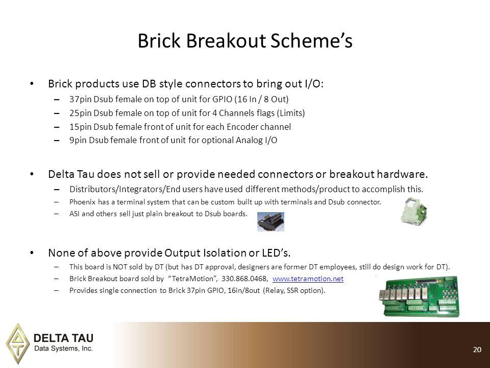 Brick Breakout Scheme's