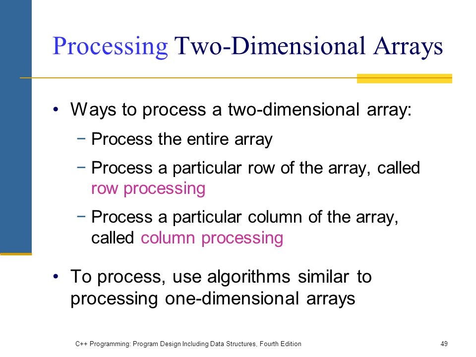 how to put string into two dimensional array