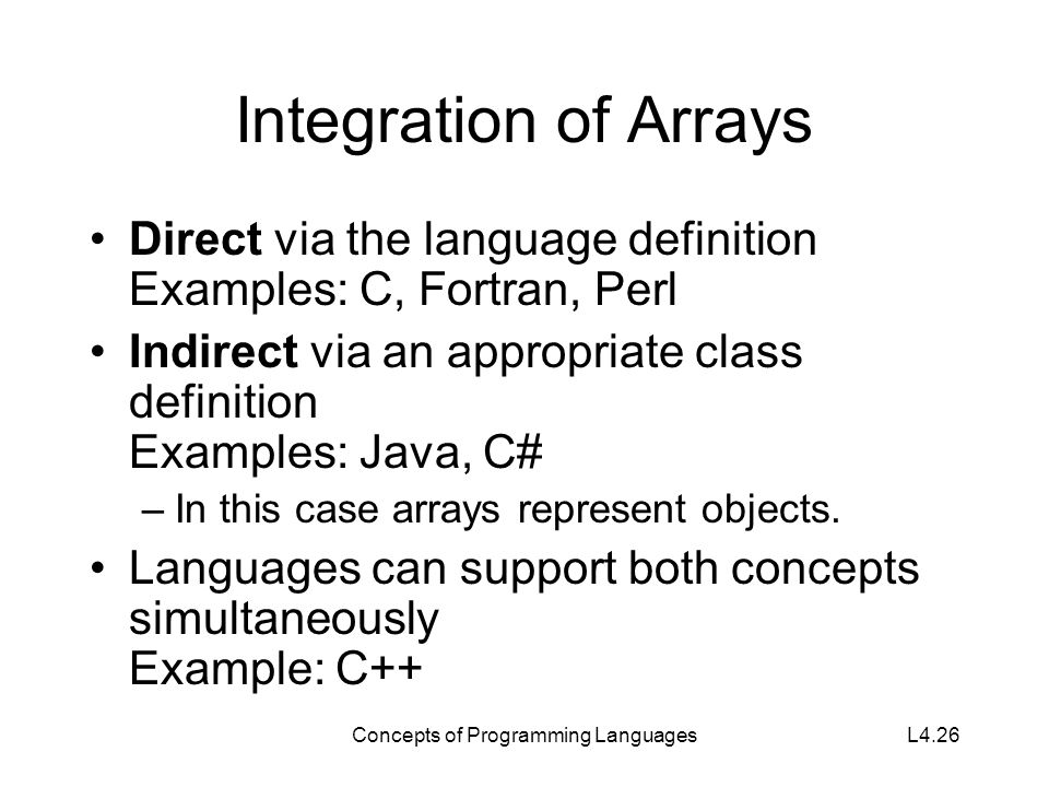 lecture 6 concepts of programming languages   ppt video