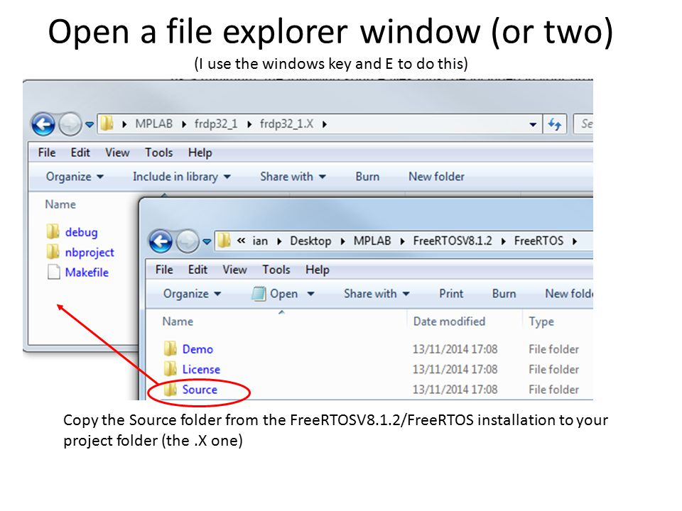 how to open a key file on windows power point