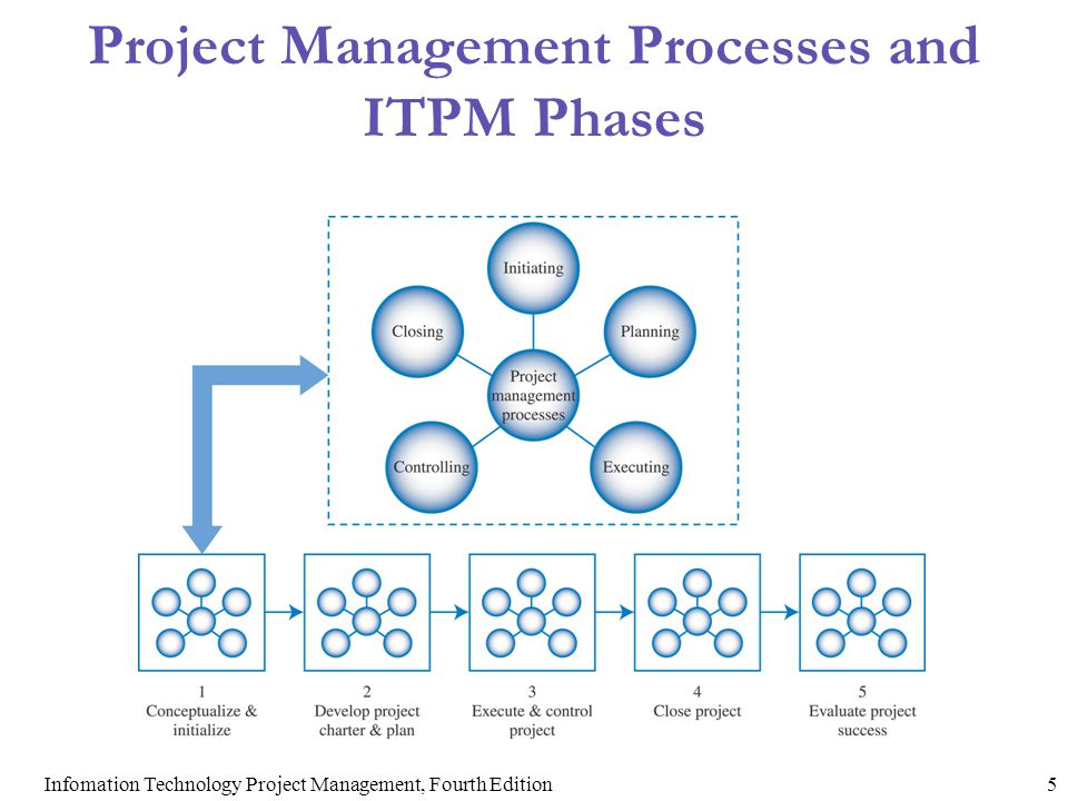 Project Management Processes and ITPM Phases