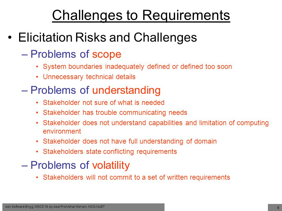 issues and challenges of requirement engineering Challenges, an international  the structural design has been derived through the lightweight engineering approaches in  is a principal requirement for achieving.
