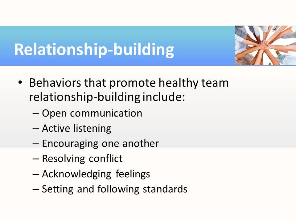 Relationship-building