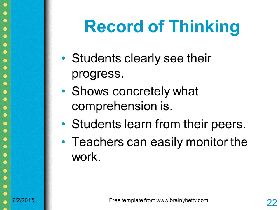 a simple tool for improving reading comprehension - ppt download, Powerpoint templates