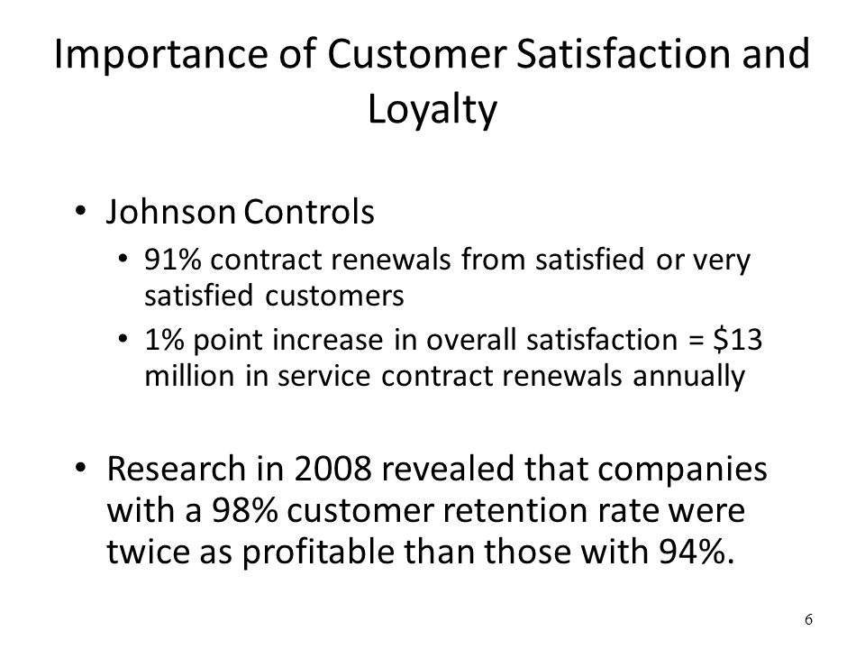 the importance of customer loyalty essay Customer loyalty is an important element for the companies for being successful in the competitive world therefore, companies always try to increase the number of loyal customers and the degree of their customers' loyalty for obtaining this, the elements, which cause a decrease in customer loyalty, must be learned carefully.