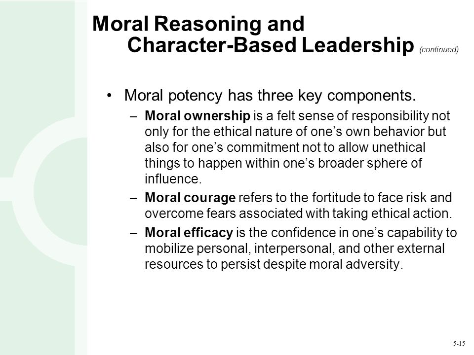 individual influence of moral reasoning In my point of view one and only one gigantic factor: survival humans need  the 'tribe' to survive, and social collaboration of course, some rogue elements.