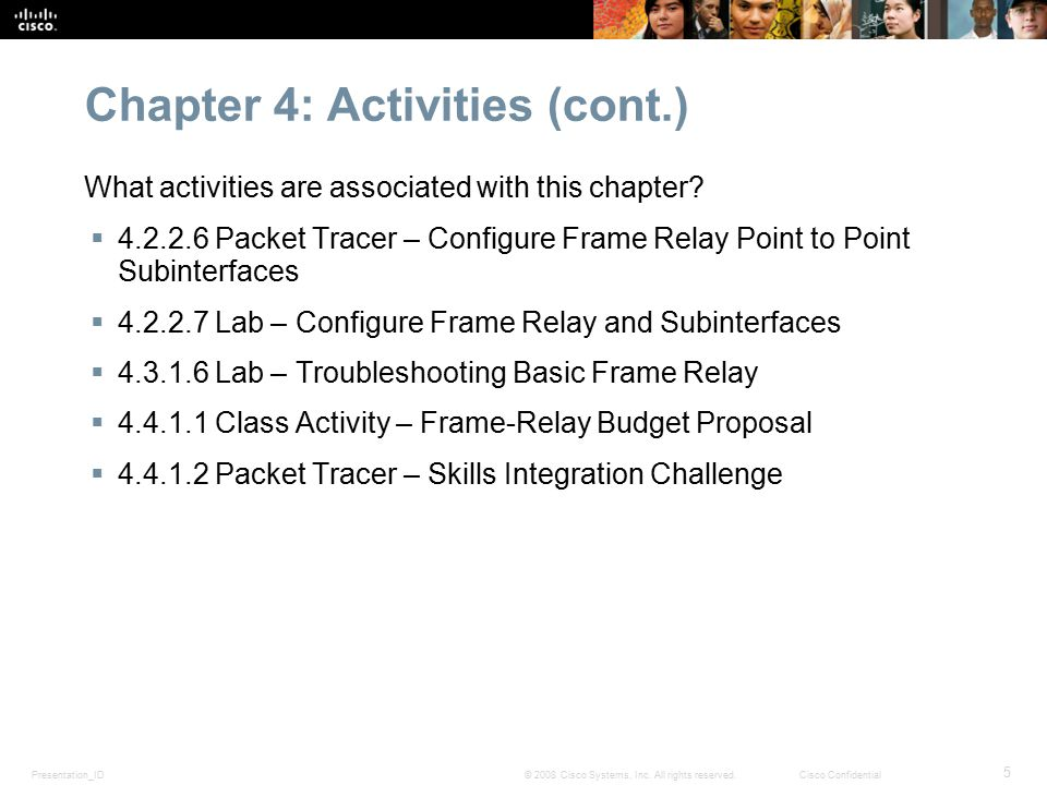 CCNA 50 Planning Guide Chapter 4 Frame Relay ppt download