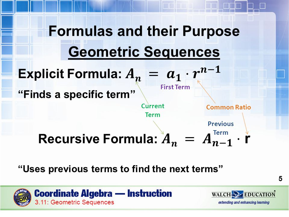Concept: Geometric Sequences - ppt download