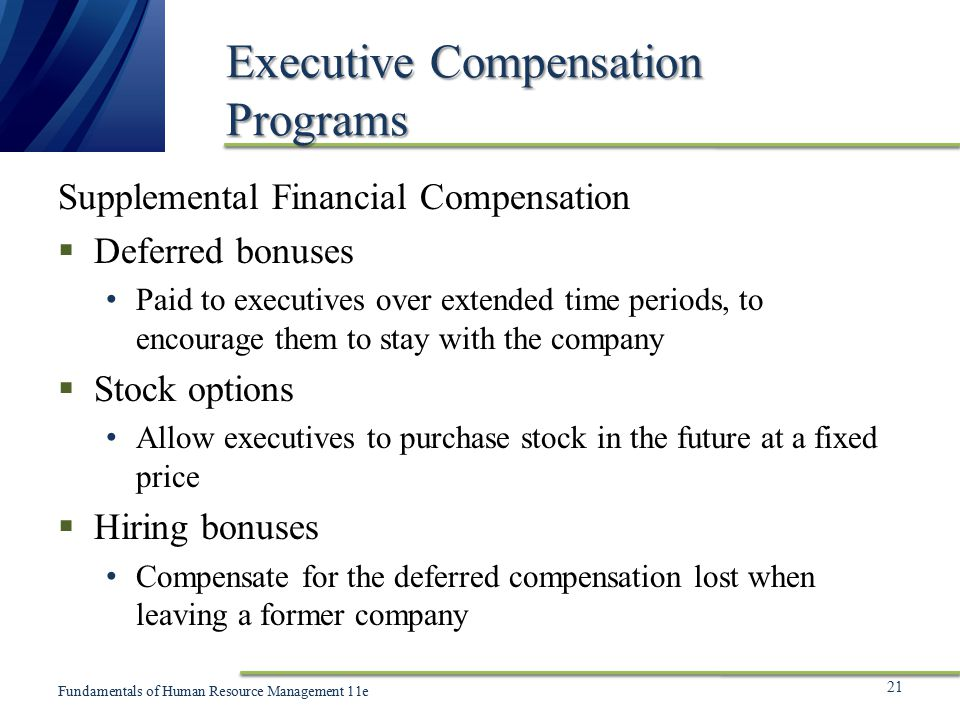 Compensation cost for stock options