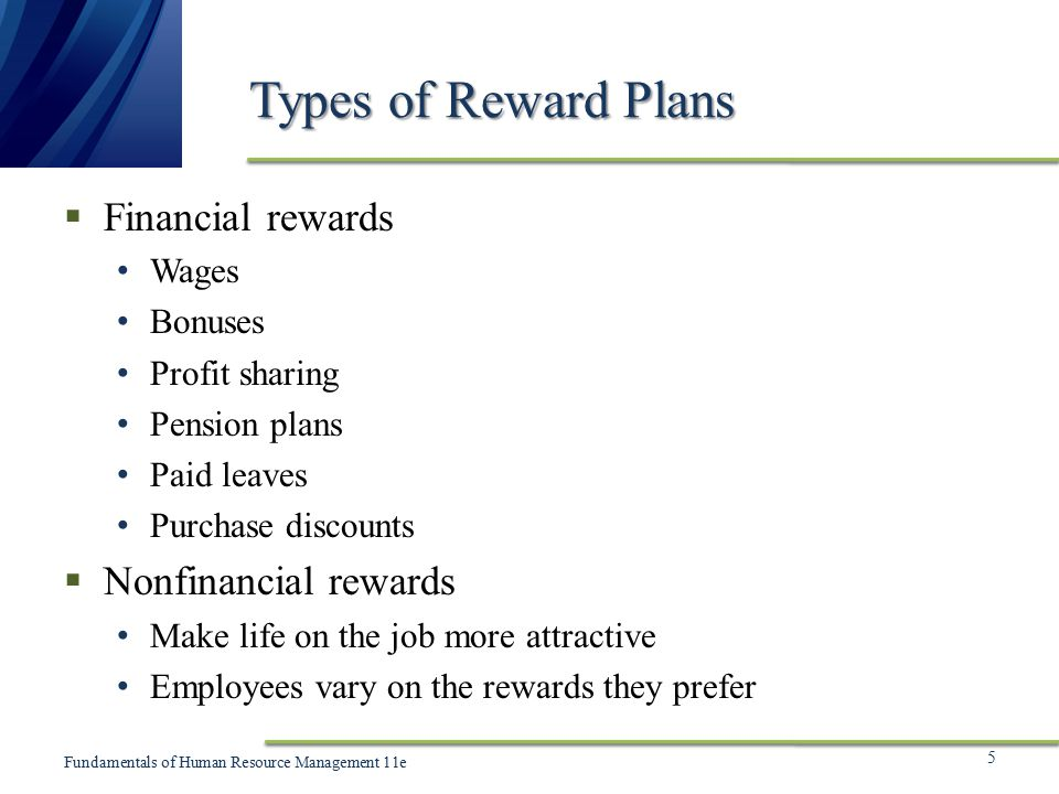 types of non financial rewards However, some of employers also use special types of non-financial rewards to upturn the contentment and motivational level of their employees some of these.