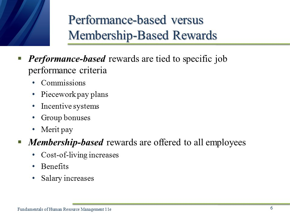 person based pay vs job based pay Performance evaluations can be based on the job duties or on the skill set required of the person occupying the position  and is not given pay increases based on .