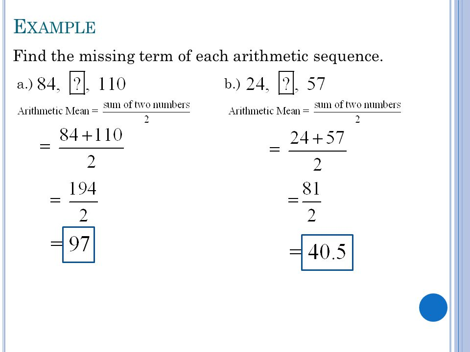 Unit 7 Sequences & Series. - Ppt Video Online Download
