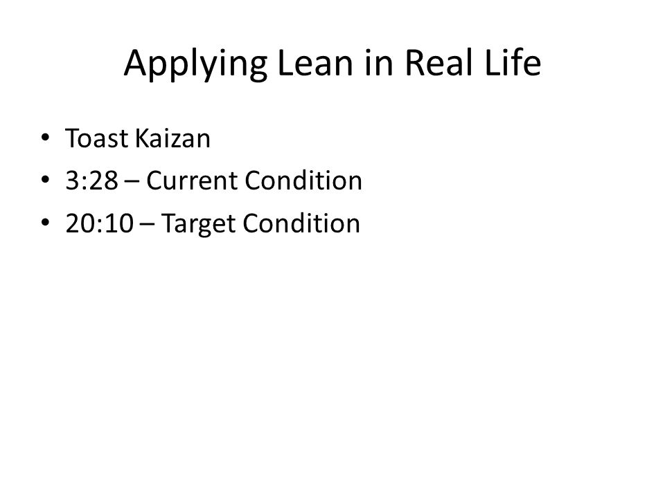 An introduction to lean six sigma ppt download applying lean in real life sciox Choice Image