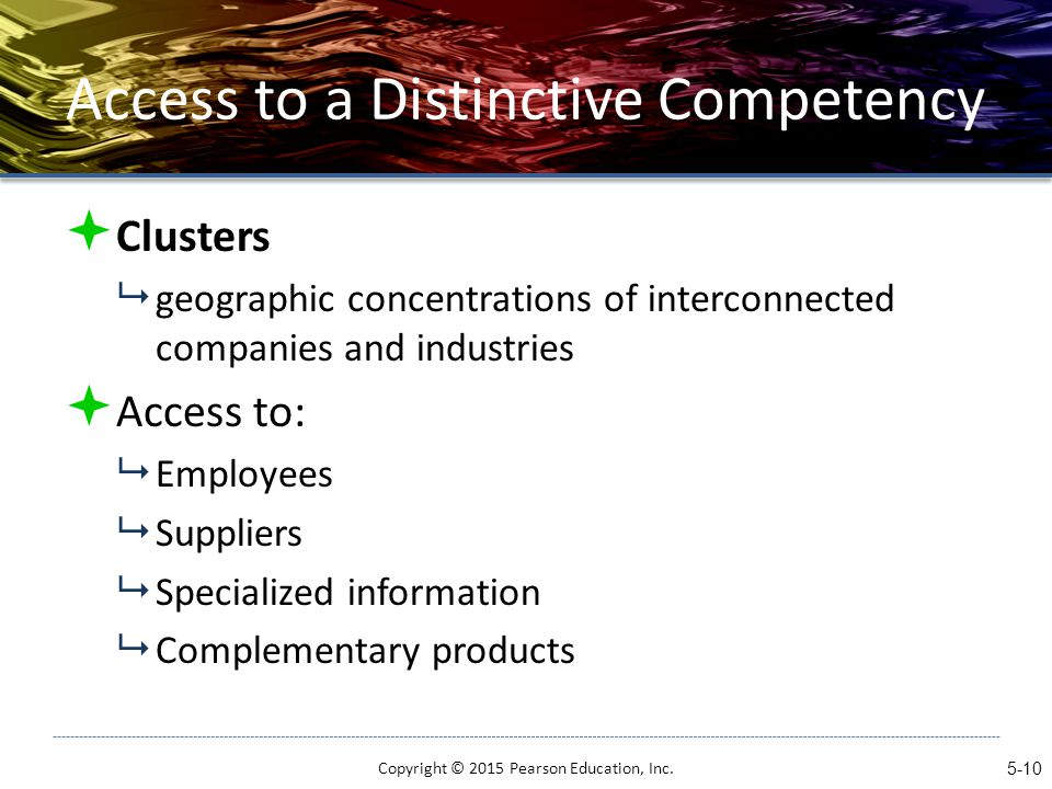 apple inc distinctive competencies A core competency is a competency of the business that is essential or central to its overall performance and success a manufacturing company with a low defect rate may not rely heavily on this low-defect rate as part of its primary business strategy if this is the case, this low-defect rate is a core competency if, on the other.