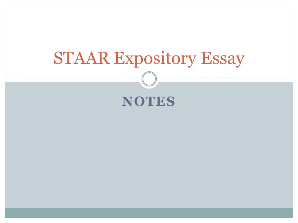 Essays with one support paragraph staar