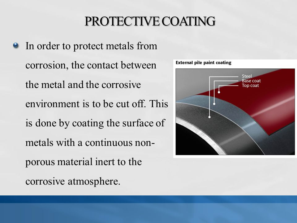Control Of Corrosion On Underwater Piles Ppt Video