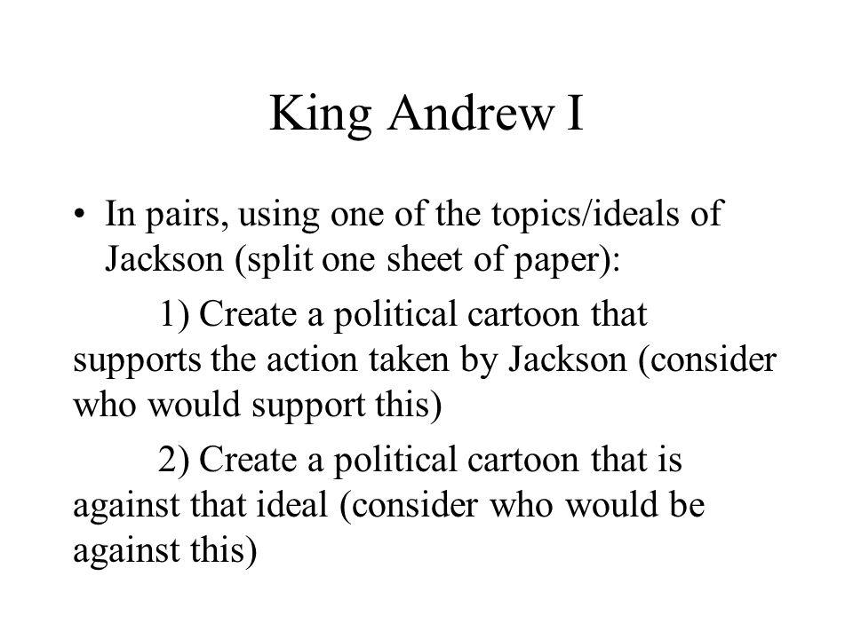 Was andrew jackson a democrat essay