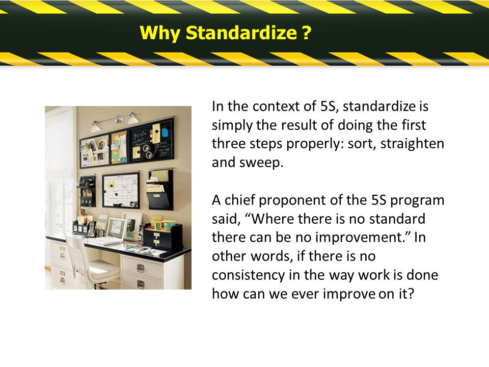 5s Standardize Examples - 0425