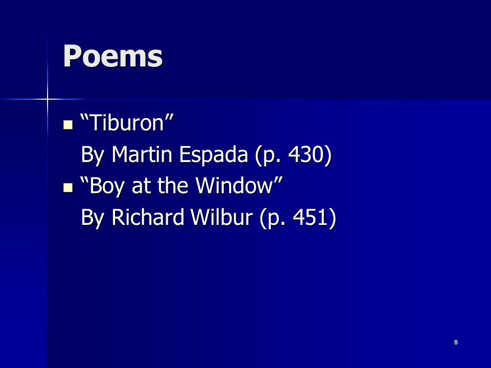 literary elements of boy at the window by richard wilbur The poem boy at the window by richard wilbur is about a snowman, it's qualities, and how a child feels as it melts in this poem i noticed a rhyme scheme of abba ect.