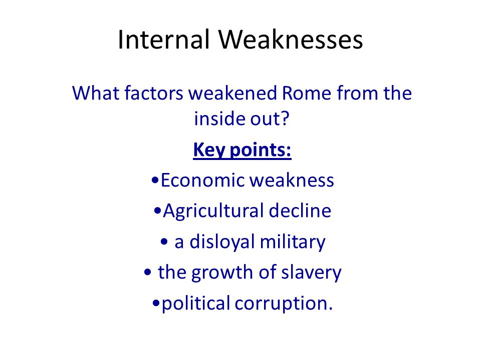 the effects of romes expansion The fall of the roman empire plunged europe into the dark ages and decentralized the region how did the fall of rome affect europe a: quick answer.
