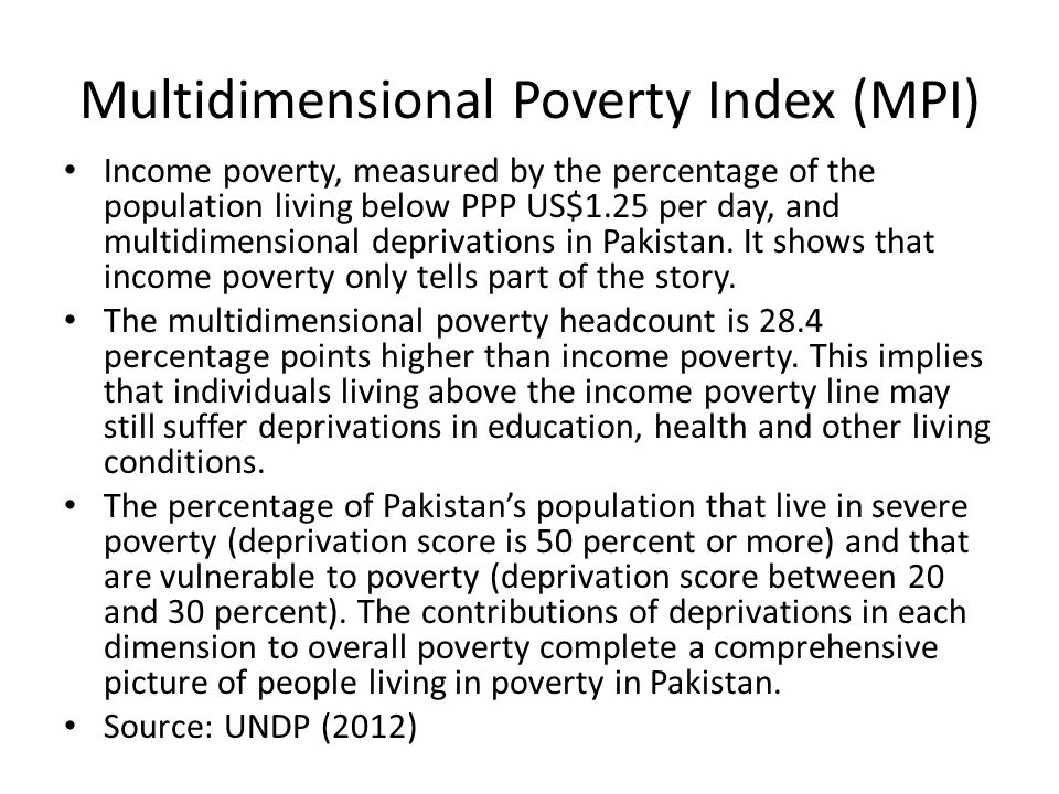 pakistan and its poverty Poverty, illiteracy and early deaths await world's most disadvantaged  in  pakistan, the level of education achieved largely depends on gender,.