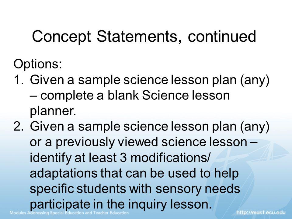 concepts statement no 7