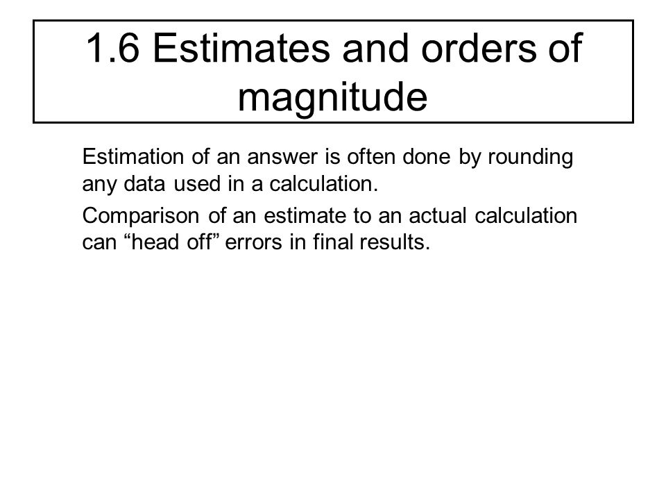 orders of magnitude and kg Study topic 1: orders of magnitude, si units, measurements, flashcards at  proprofs - magnitude, si units,  newton(kg m s^-2), pascal, hertz, joule how  do.