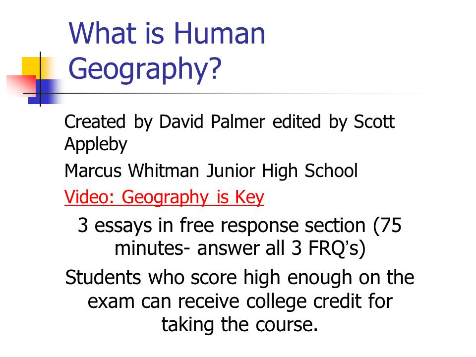 What Is Human Geography on Human Geography Of The Discipline
