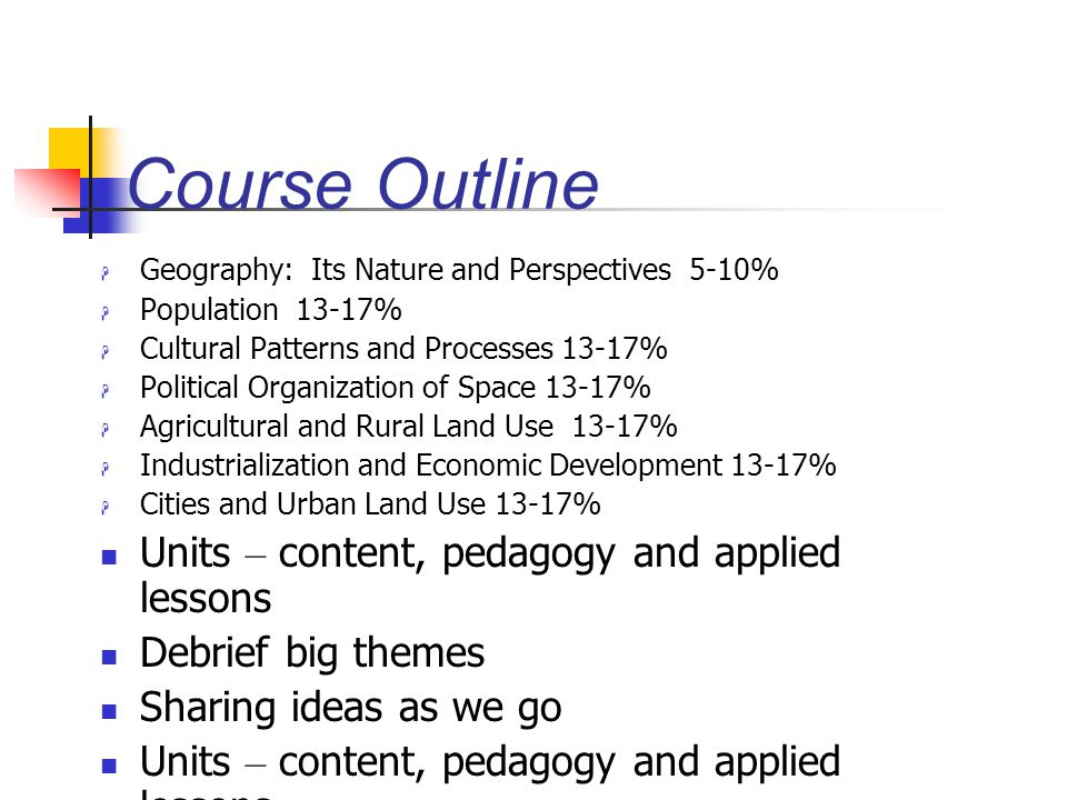 sociology course outline