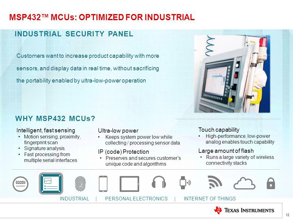 sensor interface msp432