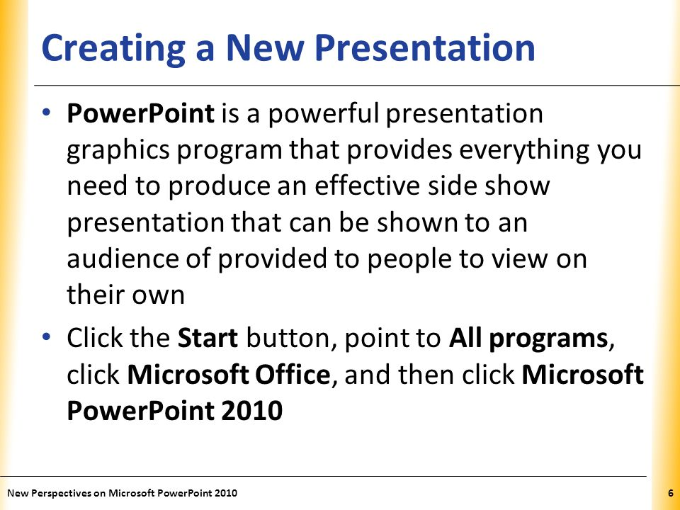 how to create a video presentation in powerpoint 2010