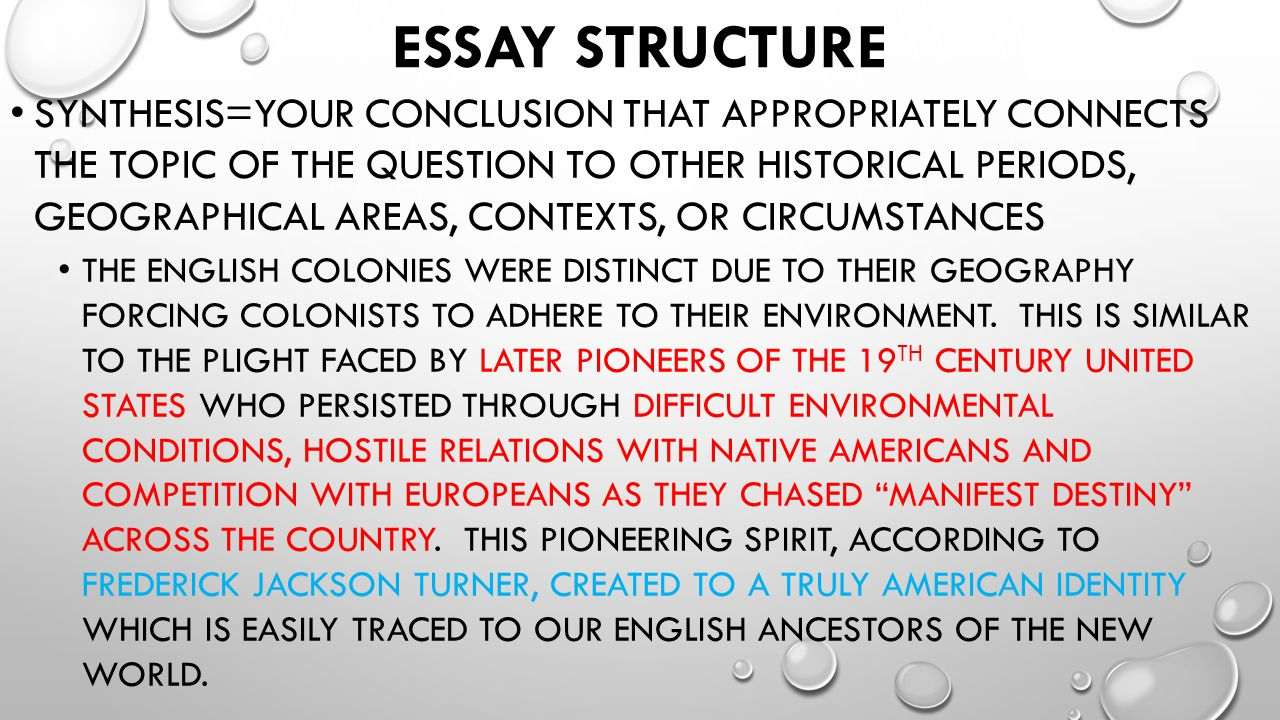 geography determines your destiny essay The history of interactions among disparate peoples is what shaped the  study  of indigenous peoples, for example, he determined that:  so no, to answer the  question the title of this essay poses, geography is not destiny.