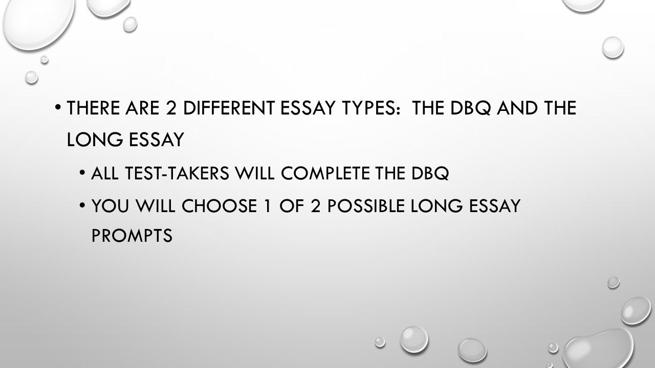 A push long essay prompts