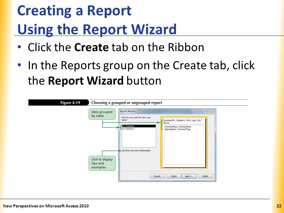 how to create table using wizard in ms access 2010