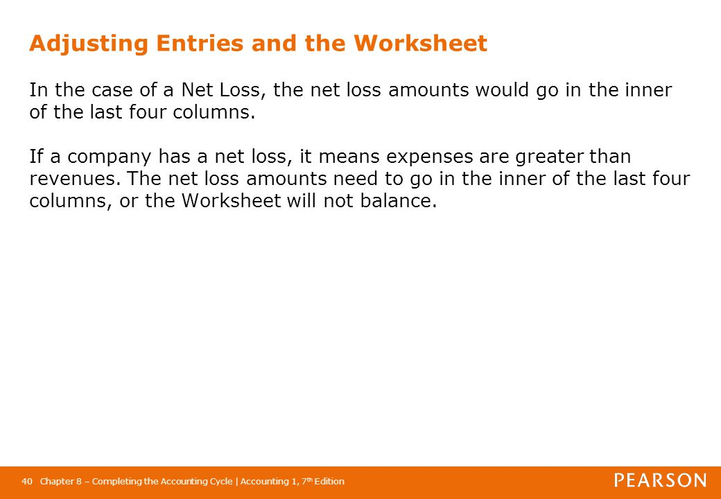 Chapter 8 Completing the Accounting Cycle - ppt video online download