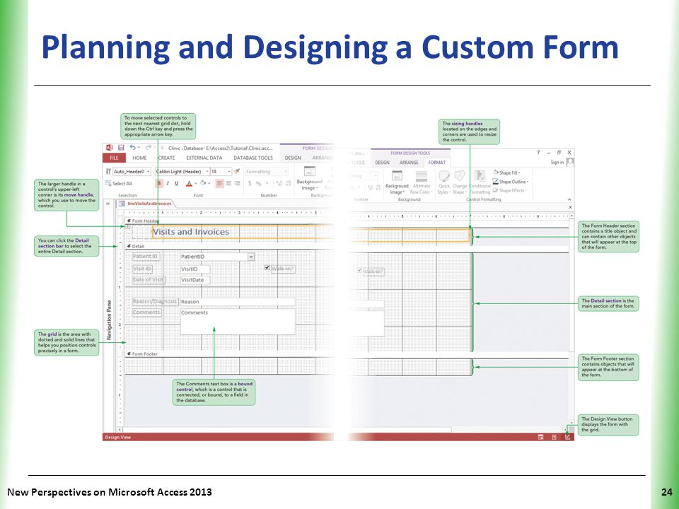 Planning and Designing a Custom Form