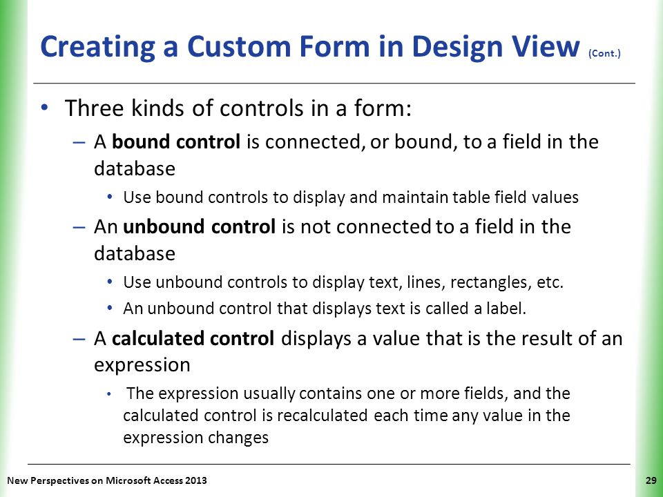Tutorial 6 Using Form Tools and Creating Custom Forms - ppt download