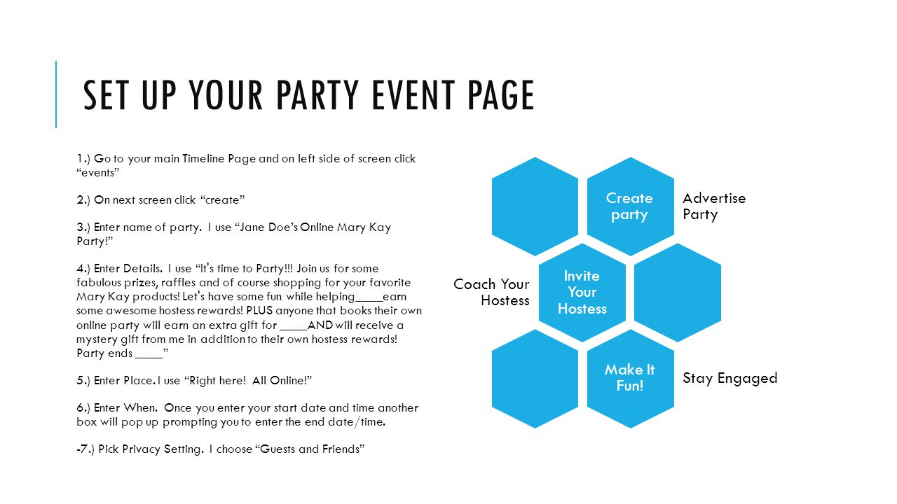 how to create private event on facebook business page