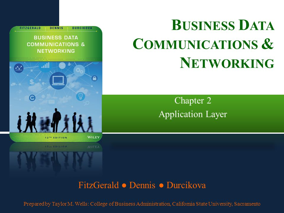 business data communication Data communication, which is the transmission of digital data through a network or to a device external to the sending device, is the cornerstone of modern telecommunications.