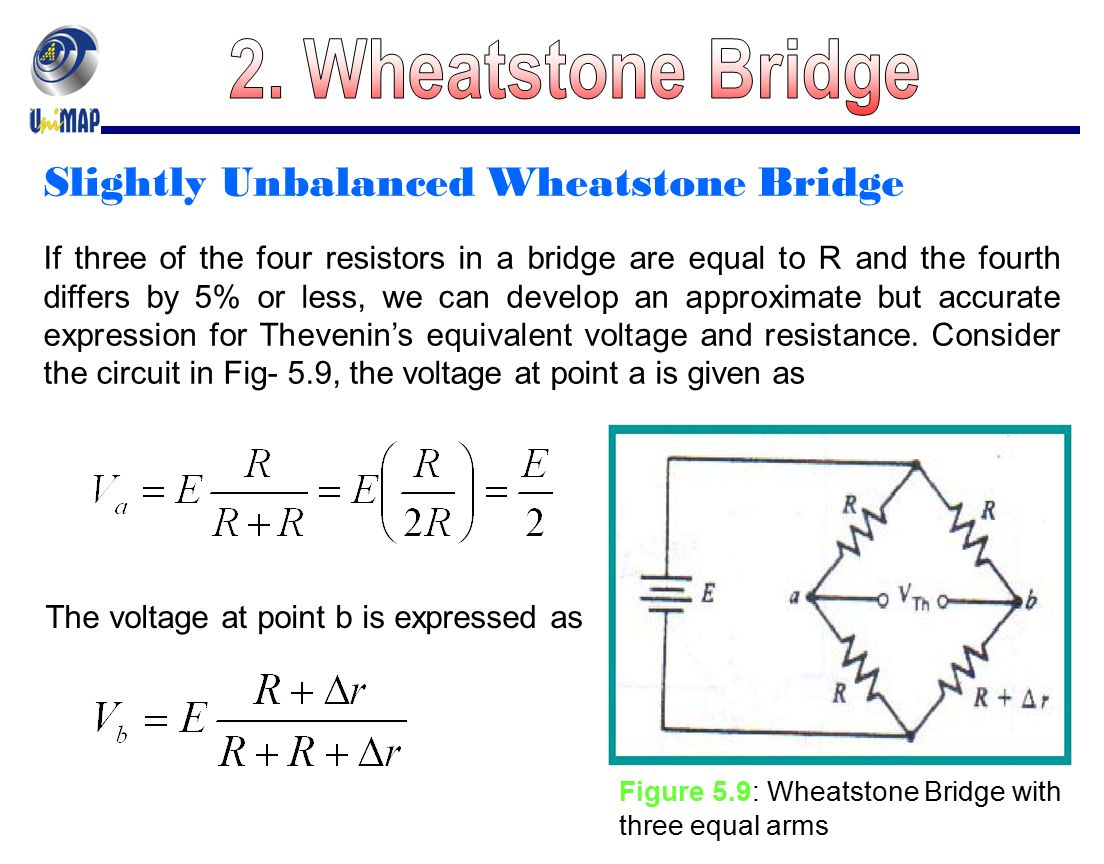 a wheatstone bridge Wheatstone bridge, is used very commonly when we're doing sensor measurements it's to improve our measurements so, we'll define the wheatstone bridge configuration, actually looks like this.